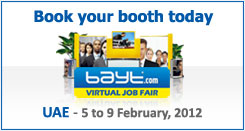 Book your booth today | UAE Virtual Job Fair