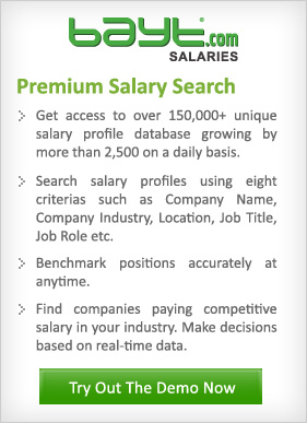 Bayt.com Salaries | Try Out The Demo