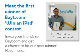 Bayt.com 'Win an iPad' Contest