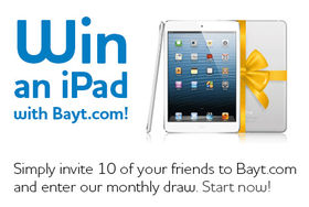 Bayt.com iPad Contest