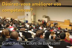 Les Cours de Bayt.com
