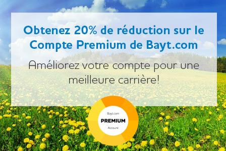 Compte Premium de Bayt.com