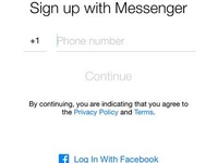 Access Messenger Without Facebook Account